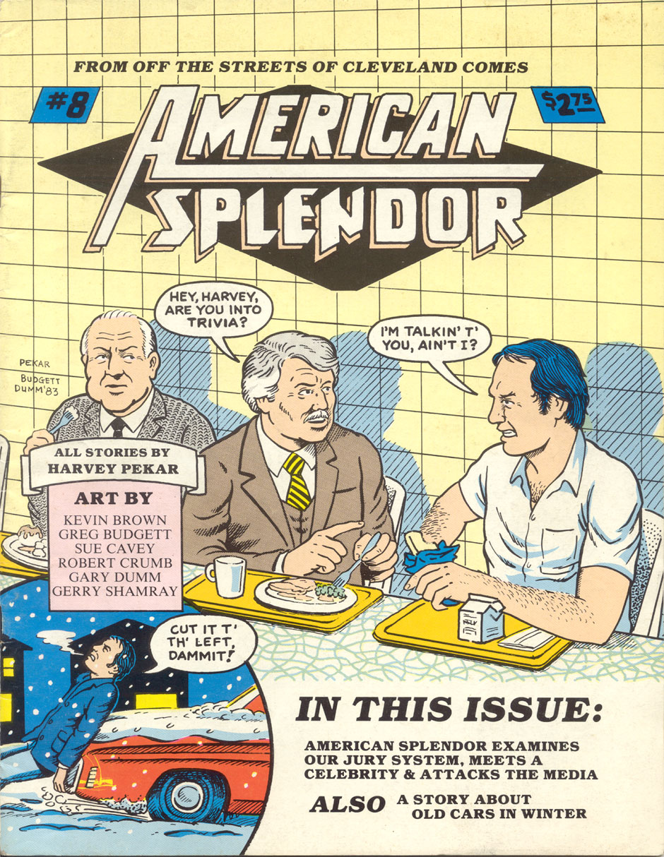 american splendor American splendor is a 2003 american biographical comedy-drama film about harvey pekar, the author of the american splendor comic book series.